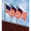 Building Mount Outdoor Flagpole Sets