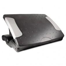 "Deluxe Adjustable Footrest, 18""w X 13 1/2""d X 4""h To 7""h, Black"