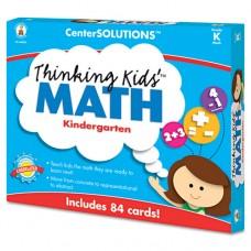 Centersolutions Thinking Kids Math Cards, Kindergarten Level