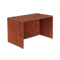 Alera Valencia Series Straight Desk Shell, 47 1/4 X 29 1/2 X 29 5/8, Med Cherry