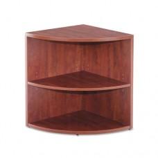 Valencia Lower End Cap Bookcase, 23-5/8w X 23-5/8d X 29-1/2h, Medium Cherry
