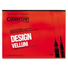 Design Vellum Paper, 16lb, White, 18 X 24, 50 Sheets/pad