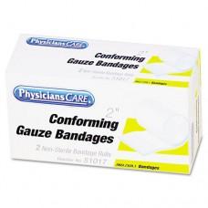 "First Aid Conforming Gauze Bandage, 2"" Wide, 2 Rolls/box"