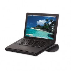 Cool Channel Notebook Platform, 13 X 12 X 2 4/5, Charcoal Gray