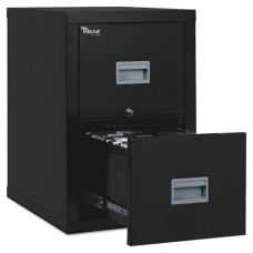 Patriot Insulated Two-Drawer Fire File, 17-3/4w X 25d X 27-3/4h, Black