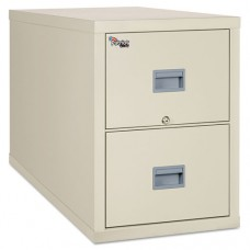 Patriot Insulated Two-Drawer Fire File, 20-3/4w X 31-5/8d X 27-3/4h, Parchment