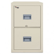 Patriot Insulated Two-Drawer Fire File, 17-3/4w X 31-5/8d X 27-3/4h, Parchment
