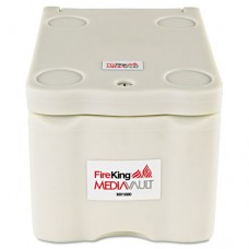 Mediavault, .2 Ft3, 11-5/8w X 17-1/2d X 10-1/2h, Ul Listed 125 For Fire, White