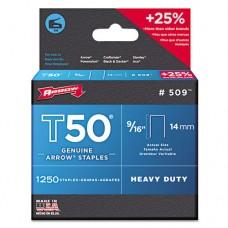 "T50 Type Staples, 9/16"", .050 Wire"
