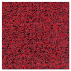 Rely-On Olefin Indoor Wiper Mat, 24 X 36, Red/black