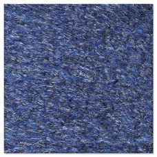 Rely-On Olefin Indoor Wiper Mat, 24 X 36, Blue/black