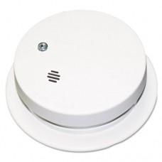 "Battery-Operated Smoke Alarm Unit, 9v, 85db Alarm, 3 7/8"" Dia"