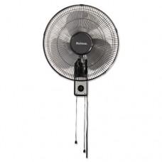 """16"""" Wall Mount Fan, 3-Speed, Metal, Black"""