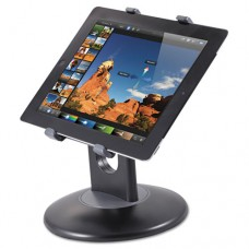 """Stand For 7"""" To 10"""" Tablets, Swivel Base, Plastic, Black"""