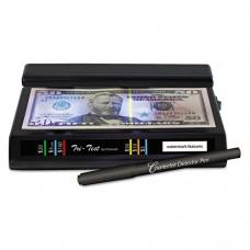 Tri Test Counterfeit Bill Detector, Uv With Pen, 7 X 4 X 2 1/2