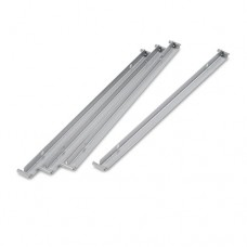 """Two Row Hangrails For 30"""" Or 36"""" Files, Aluminum, 4/pack"""