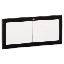 """Magnifier Lens, 2"""" X 4 1/4"""", Glass, 2.25 Diopter"""