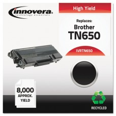 Remanufactured Tn650 High-Yield Toner, Black