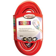 Stripes Extension Cord, 50 ft