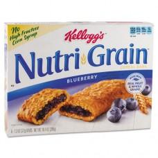 Nutri-Grain Cereal Bars, Blueberry, Indv Wrapped 1.3oz Bar, 48/carton