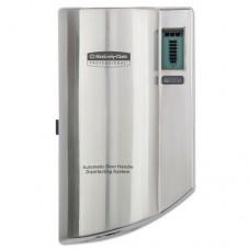 Automatic Door Handle Disinfectant Dispenser, 4 37/100 W X 7 2/5 H, Silver, 6/ct