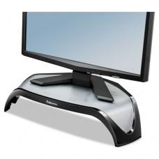 Smart Suites Corner Monitor Riser, 18 1/2 X 12 1/2 X 5 1/8, Black