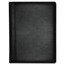 Executive Leather Padfolio, 9-1/2 X 12-1/2, Black