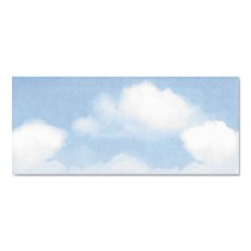 Design Suite Envelope, Blue Clouds, 4 X 9 1/2, 50/bx