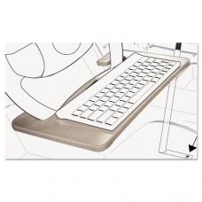 Wheel Desk And Tablet Mount Combo, 15 X 1 X 8 1/2, Wood/aluminum, Gray