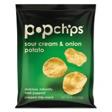 Potato Chips, Sour Cream And Onion Flavor, .8 Oz Bag, 72/carton