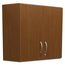Hospitality Wall Cabinet, Two Doors, 36w X 14 3/16d X 29 3/4h, Cherry