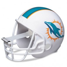"Nfl Helmet Tape Dispenser, Miami Dolphins, Plus 1 Roll Tape 3/4"" X 350"""
