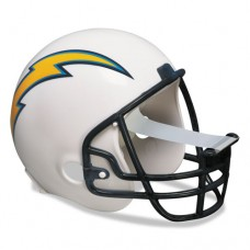 "Nfl Helmet Tape Dispenser, San Diego Chargers, Plus 1 Roll Tape 3/4"" X 350"""