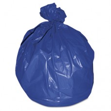 High-Density Healthcare Bags, .551mil, 38d X 38w, 46h, Blue, 250/ct