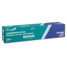 """Film With Easy Glide Slide Cutter Box, Pvc, 24"""" X 2000 Ft Roll"""