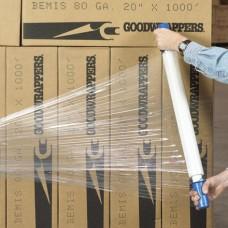 """20"""" x  70 Gauge x 1000' Goodwrappers® Economy Cast Stretch Film"""