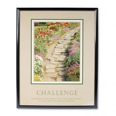 Challenge Framed Motivational Print, 24 X 30