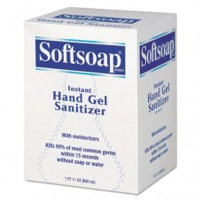 Fragrance-Free Instant Hand Gel Sanitizer Refill, 800ml Bag, Clear