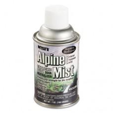 Metered Odor Neutralizer Refills, Alpine Mist, 7oz, Aerosol, 12/carton