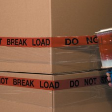 """5"""" x 80 Gauge x 500' """"DO NOT BREAK LOAD"""" Goodwrappers® Identi-Wrap"""