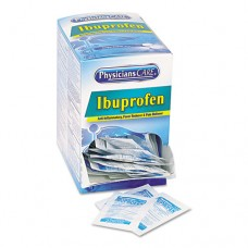 Ibuprofen Medication, Two-Pack, 200mg, 50 Packs/box
