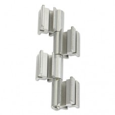 Rumba Whiteboard Screen Accessories, Ganging Connector Set, Silver