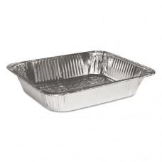 "Steam Table Aluminum Pan, Half-Size, 2 9/16"" Deep, 100/carton"