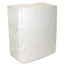 Decor Dinner Napkins, 2-Ply, White, 8 3/8 X 7 3/8, 150/pk, 3000/carton