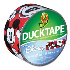 "Disney-Licensed Mickey Mouse Ducktape, 9 Mil, 1.88"" X 10 Yds, Mickey Mouse"