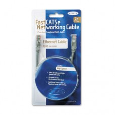 Fastcat 5e Snagless Patch Cable, Rj45 Connectors, 7 Ft., Gray