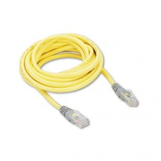 Cat5e Crossover Patch Cable, Rj45 Connectors, 10 Ft., Yellow