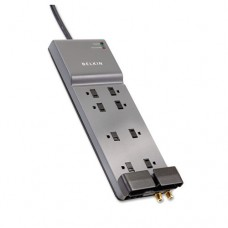 Office Series Surgemaster Surge Protector, 8 Outlets, 6 Ft Cord, 3390 Joules