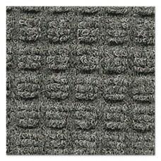Super-Soaker Wiper Mat W/gripper Bottom, Polypropylene, 48 X 72, Medium Gray