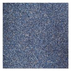 Rely-On Olefin Indoor Wiper Mat, 36 X 120, Blue/black
